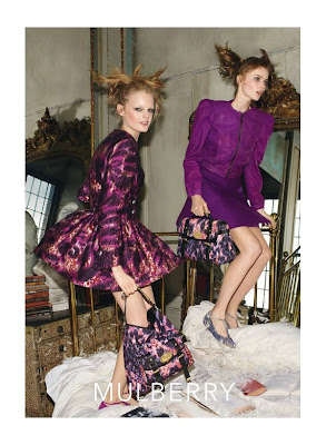 Abbey Lee Kershaw and Hanne Gaby by Steven Meisel for Mulberry Campaign AW 2010