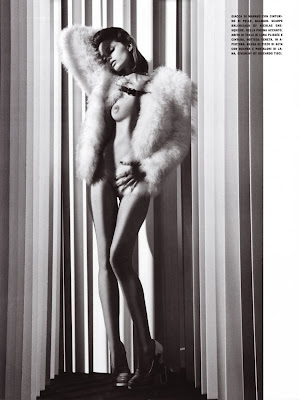 AMAZING EDITORIAL…again beloved Abbey Lee Kershaw by Mario Sorrenti for Vogue Italy August 2010, part 3