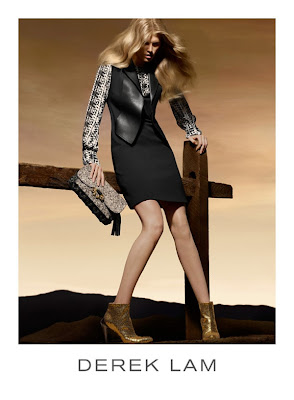 Maryna Linchuk by Solve Sundsbo for Derek Lam Fall 2010 Ad Campaign
