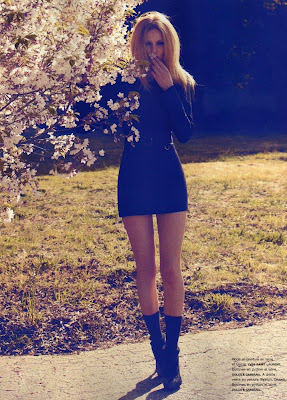 Beauty Edita Vilkeviciute by Camilla Akrans for Numero #116 September 2010…Divine Idylle, part 3
