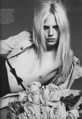 Malgosia Bela, Daphne Groeneveld, Andrej Pejic and Lea T. by Mert and Marcus for Vogue Paris September 2010, part 2