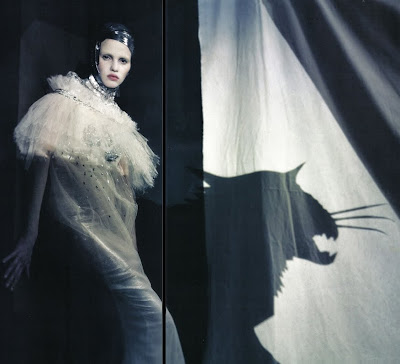 Lara Stone by Paolo Roversi for Vogue Italy March 2010, part 3