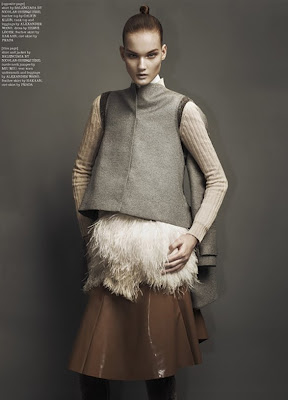 Krisi Pyrhonen by Sharif Hamza for Dazed and Confused October 2010