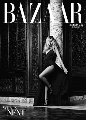 Georgia May Jagger by Hedi Slimane for Harpers Bazaar US November 2010, part 2
