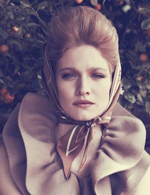 Lesly Masson by Carlotta Manaigo for Elle Italy November 2010