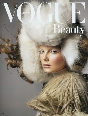 Eniko Mihalik by Raymond Meier for Vogue Nippon Beauty November 2010