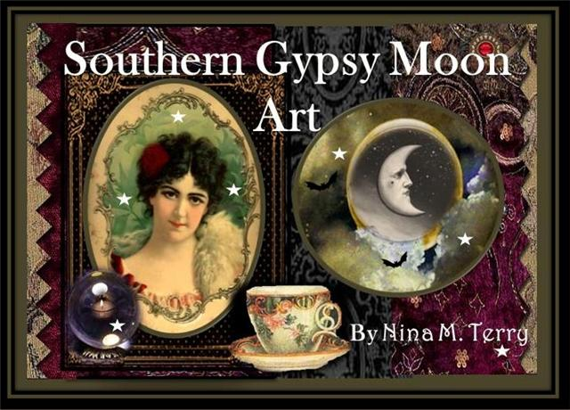 Southern Gypsy Moon Art