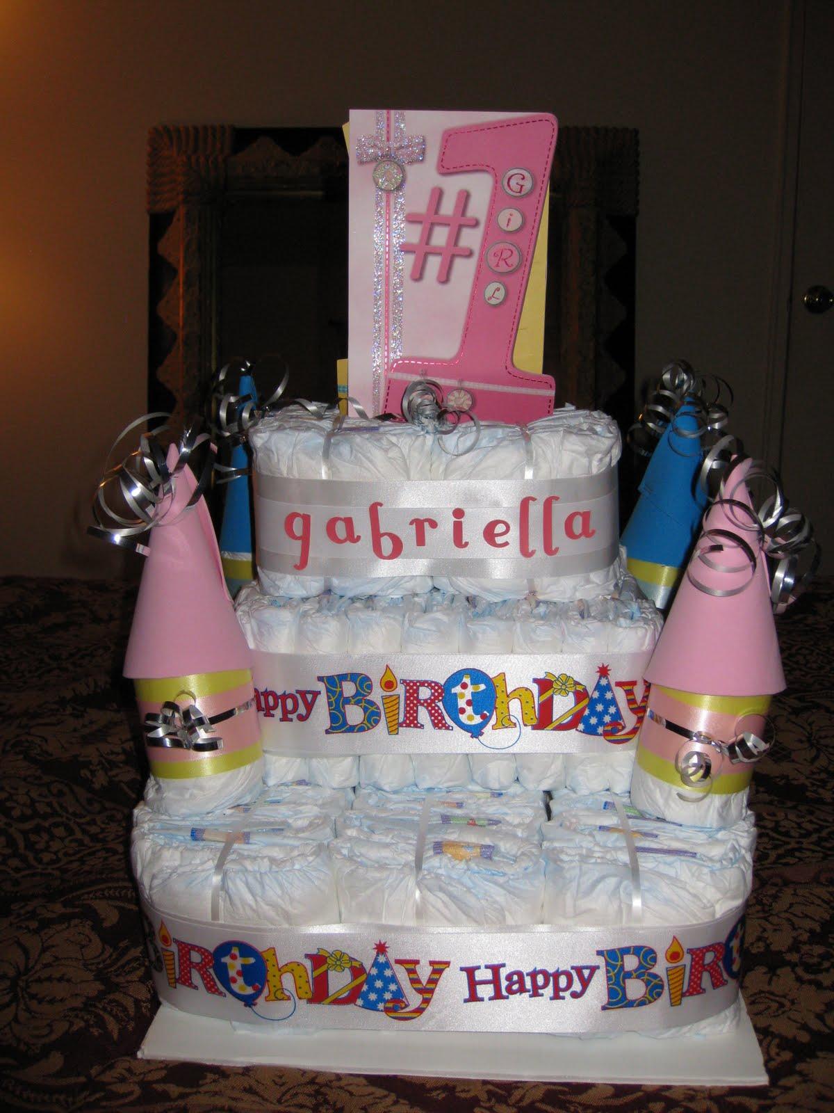 Make Castle Diaper Cake