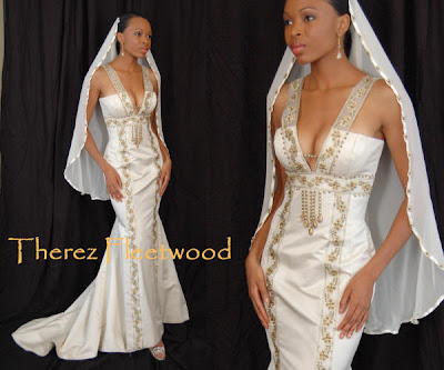 Wedding Gowns  Mature Brides on African American Brides Blog  Wedding Gown Of The Day  Ayana