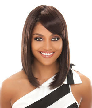 black straight hairstyles long fringe with bangs