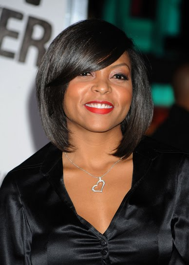 American Wedding Hairstyles & Hairdos: Taraji