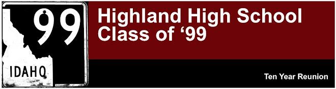 Highland High School Class of '99