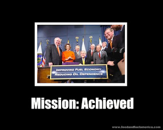 Mission: Achieved Ethanol Energy Legislation President Bush December 2007 Big Oil Big Food