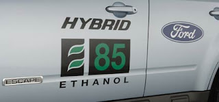 Ford Hybrid Food vs Fuel Ethanol Energy