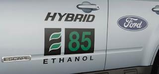 Ford Hybrid Food vs Fuel Ethanol Energy
