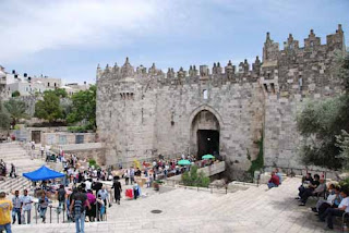 Damascus Gate in Old City - Jerusalem, Israel