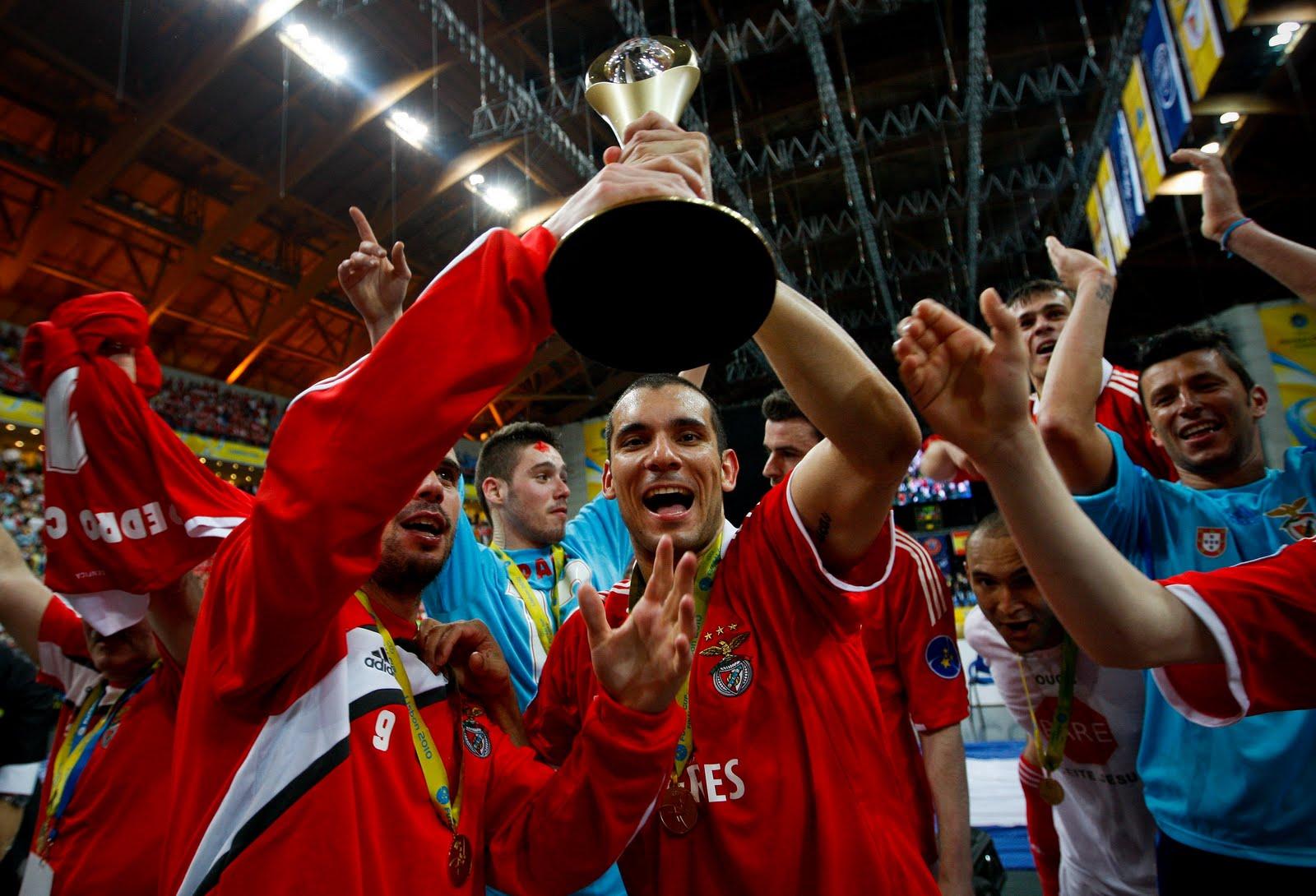 Benfica é campeão europeu de futsal 3bffd2fc119fb