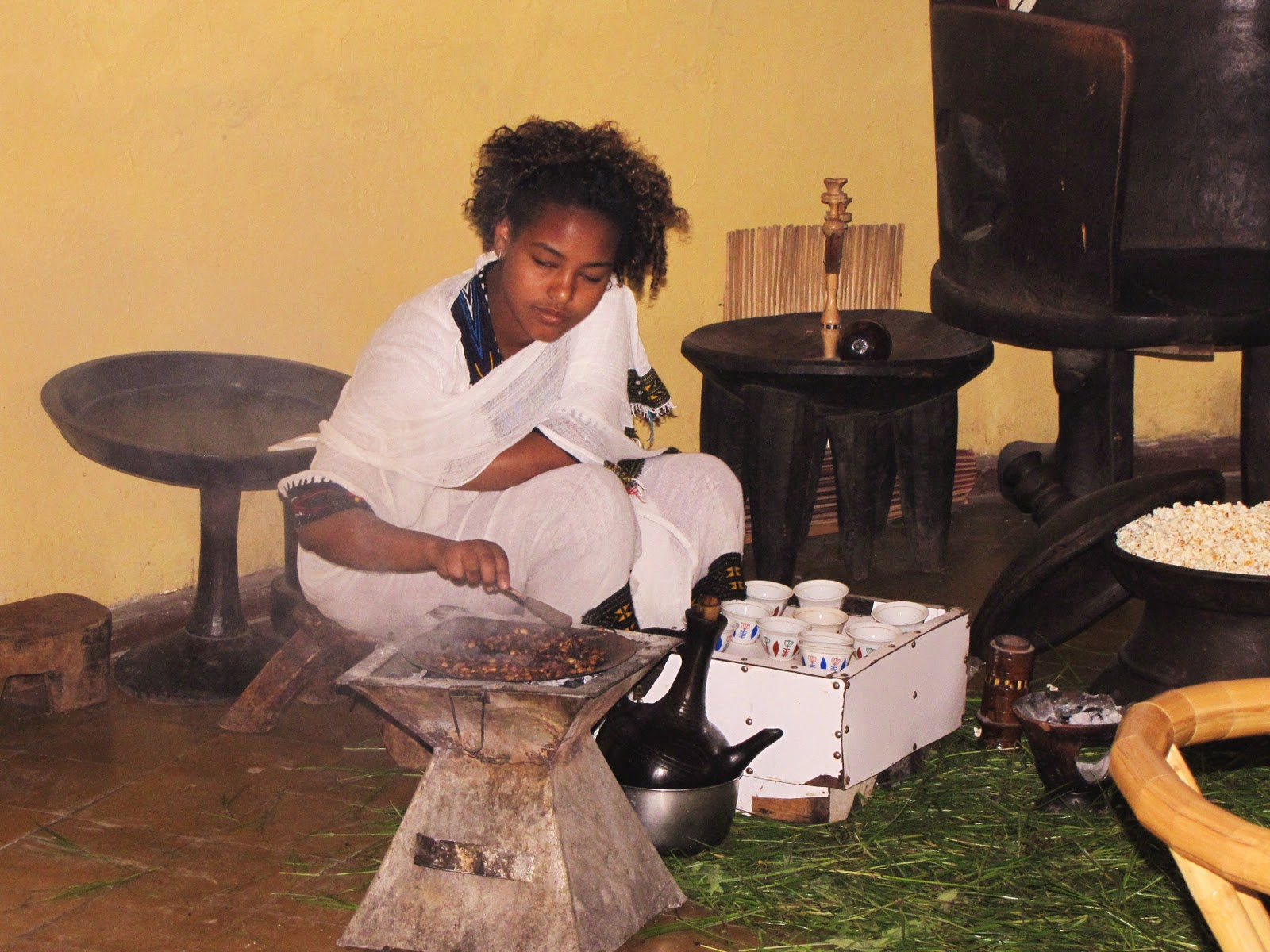Holes in My Soles: Coffee, Real Coffee in Ethiopia: And New Life For