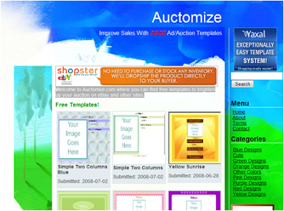 online auction html templates pictures