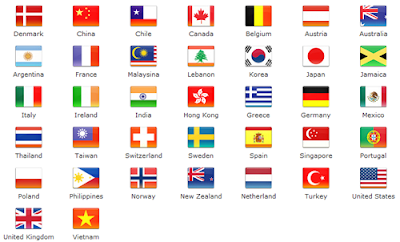 flags of countries around the world quot  Posted by Rafaello TitsworthFlags Of Countries Around The World