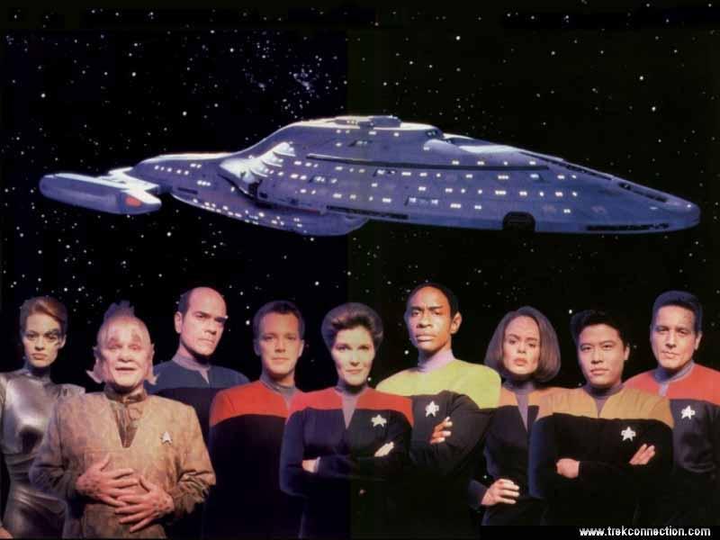 Star Trek: Voyager was