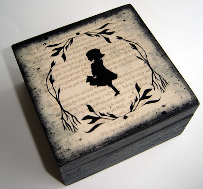 Dark Forest Little Red Riding Hood Keepsake Box