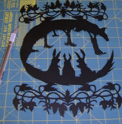 The Keeper Papercutting
