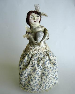BeeKeeper Whimsical Art Doll