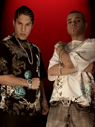 In this week Chino and Nacho were number 2 with the song Tu Angelito.