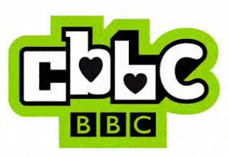 CBBC Valentine's Day hearts logo