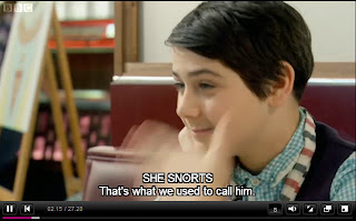 Kit snorts, as subtitled