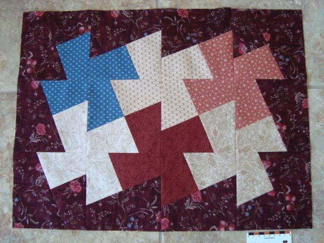 Quilt Patterns Windmill Block : Thread Head: Windmill Mini Quilt