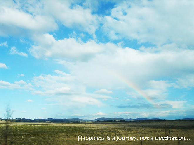 Happiness is a journey, not a destination...