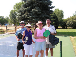 Pickle-ball in Meridian, Idaho