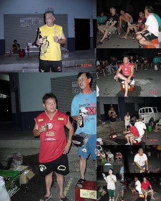 Run  876 circle photo collage