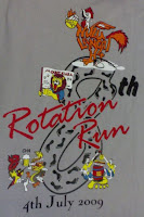 8th Rotation Run Logo