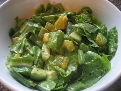 Pie Birds, Buttons and Muddy Puddles: Avocado Citrus Salad