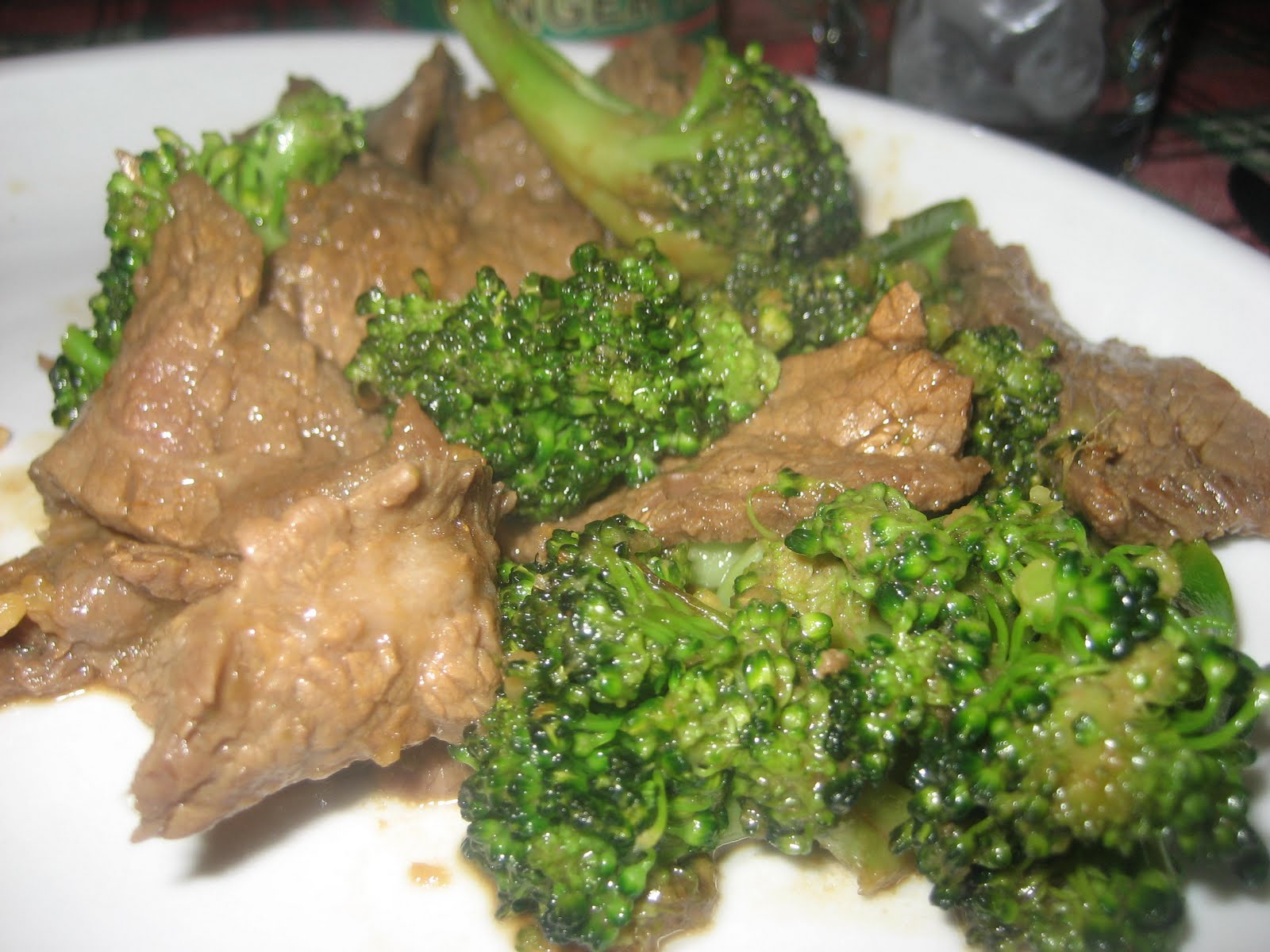 think chinese beef broccoli is probably my personal favorite chinese ...