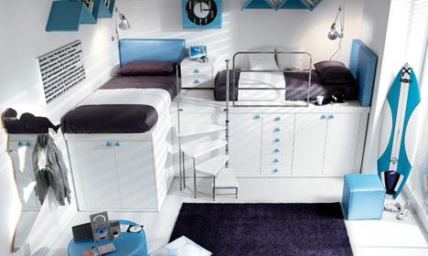 Kamar Tidur ABG Lengkap Dan Hemat Ruang