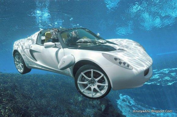 Mobil Unik Yang Bisa Menyelam Sedalam 10 Meter