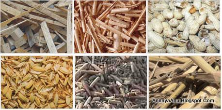 Bahan Biomasa Yang Dapat Dibuat Menjadi Briket Bahan Bakar