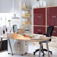 Foto-foto Ruang kerja Di Rumah Bagi Yang Bekerja Lewat Internet