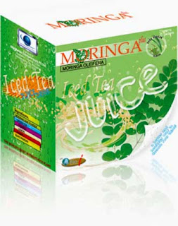 moringa iced tea juice