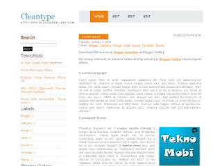 clean, clean type themes, blogger themes