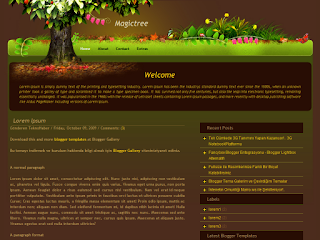 magictree templates, magictree blogger themes,wordpress to blogger