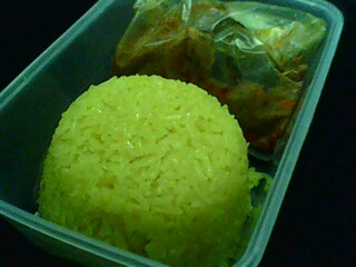 Pakej Pulut Kuning + Rendang Ayam