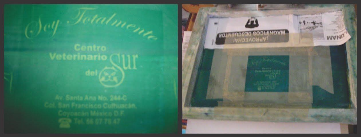 CLEP: Manual de serigrafía casera: IMPRESION DE PALIACATES EN SERIE