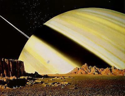 Microbi alieni su una luna di saturno ?