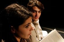 Aida Oset (Rosa) i Bernat Quintana (Santi)