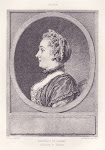 Portrait de femme par Cochin